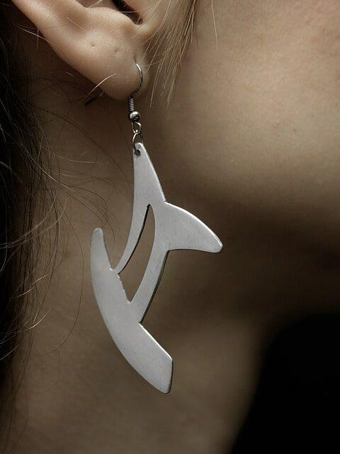 orvosi fém fülbevaló