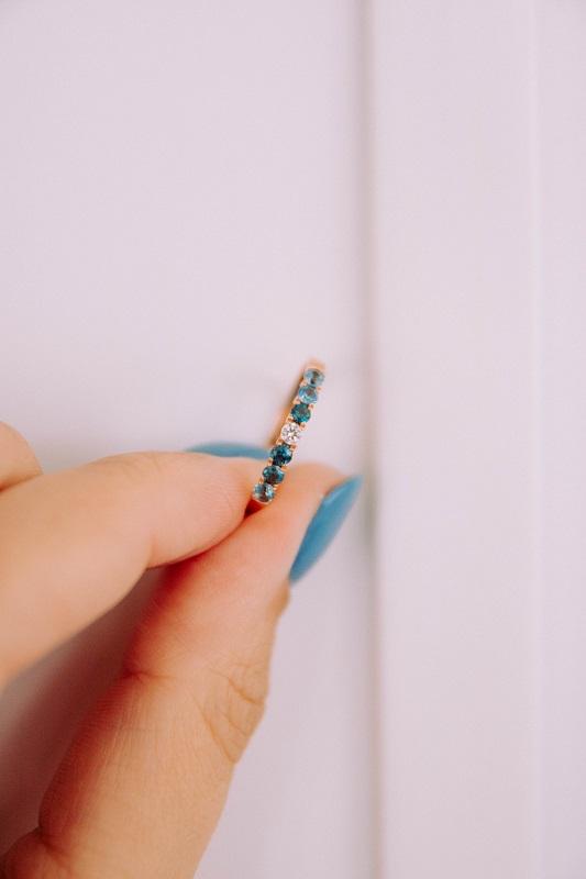 Minimalista gyűrű
