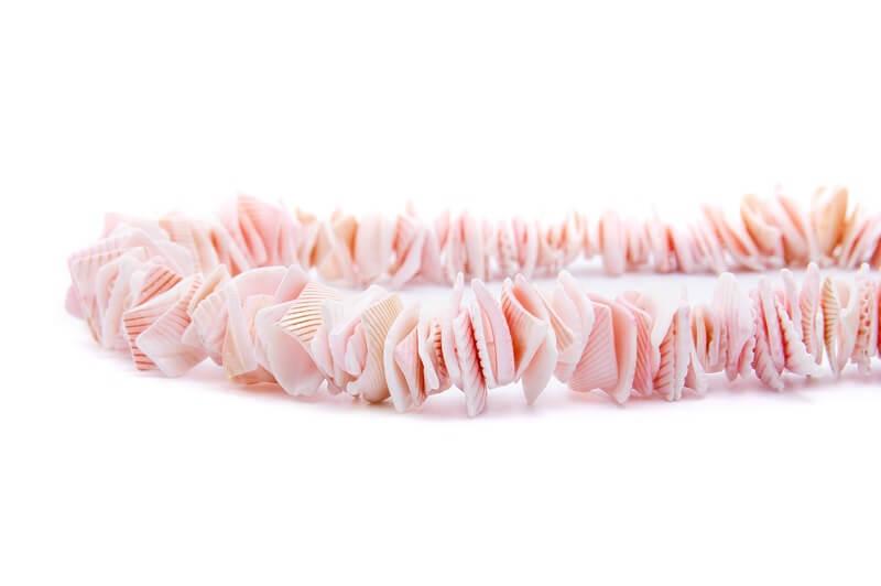 kagyló nyaklánc készítés