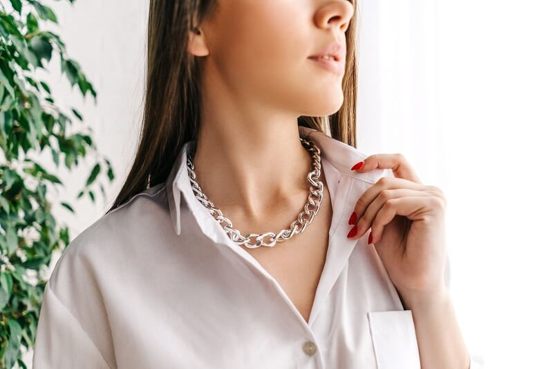 ezüst nyaklánc tisztítása